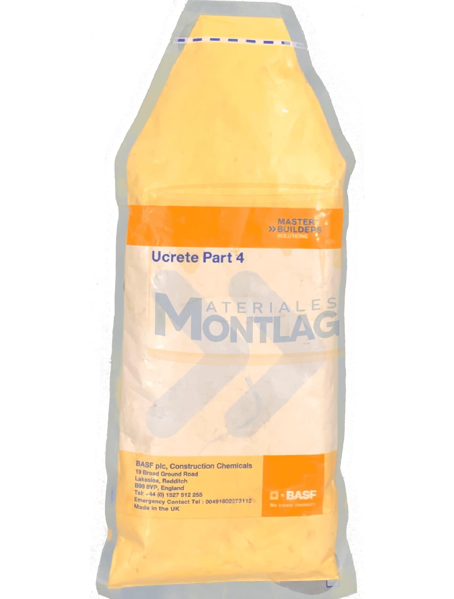 Materiales Montlag - Ucrete PT4 Crema