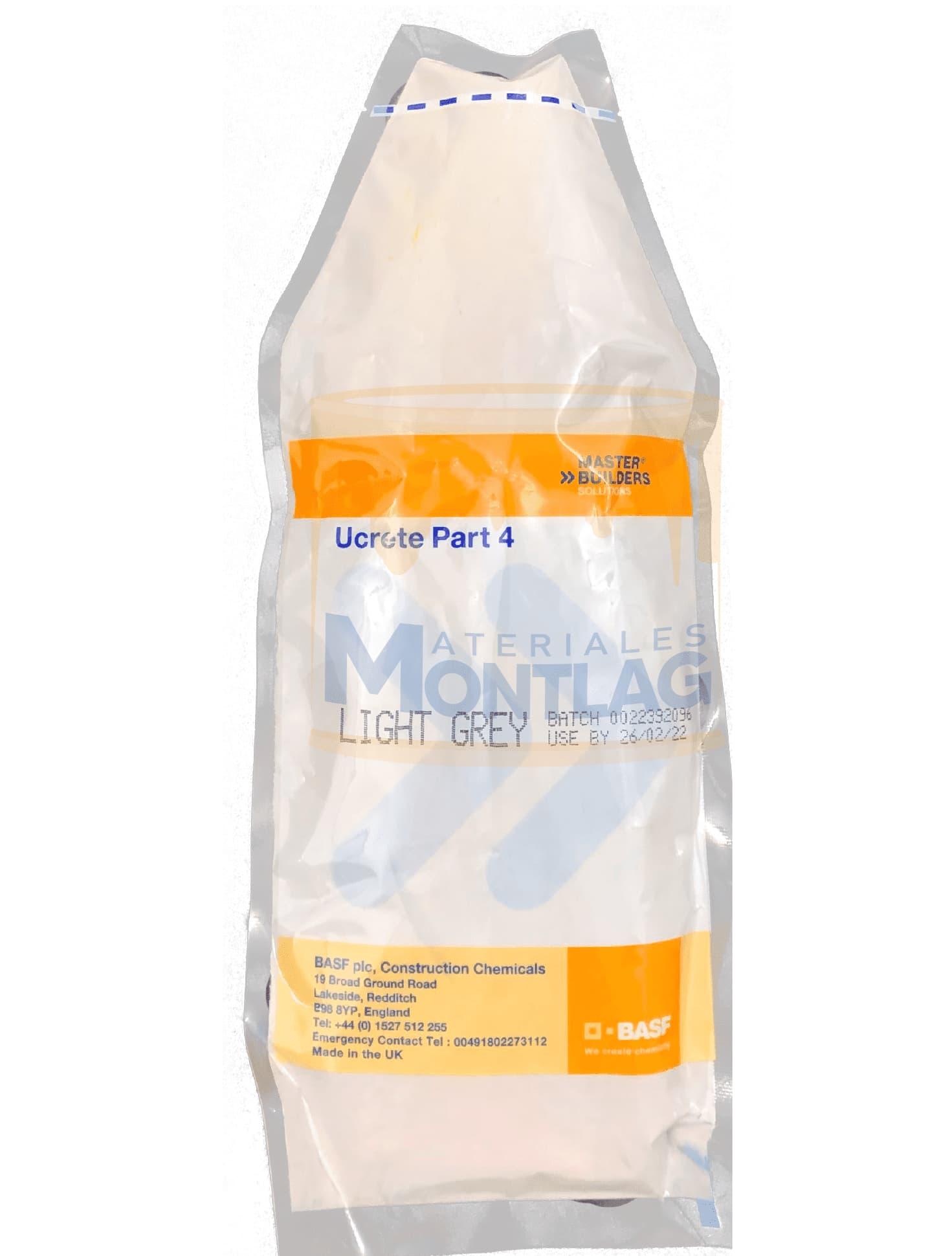 Materiales Montlag - Pintura Ucrete PT4 Gris Claro
