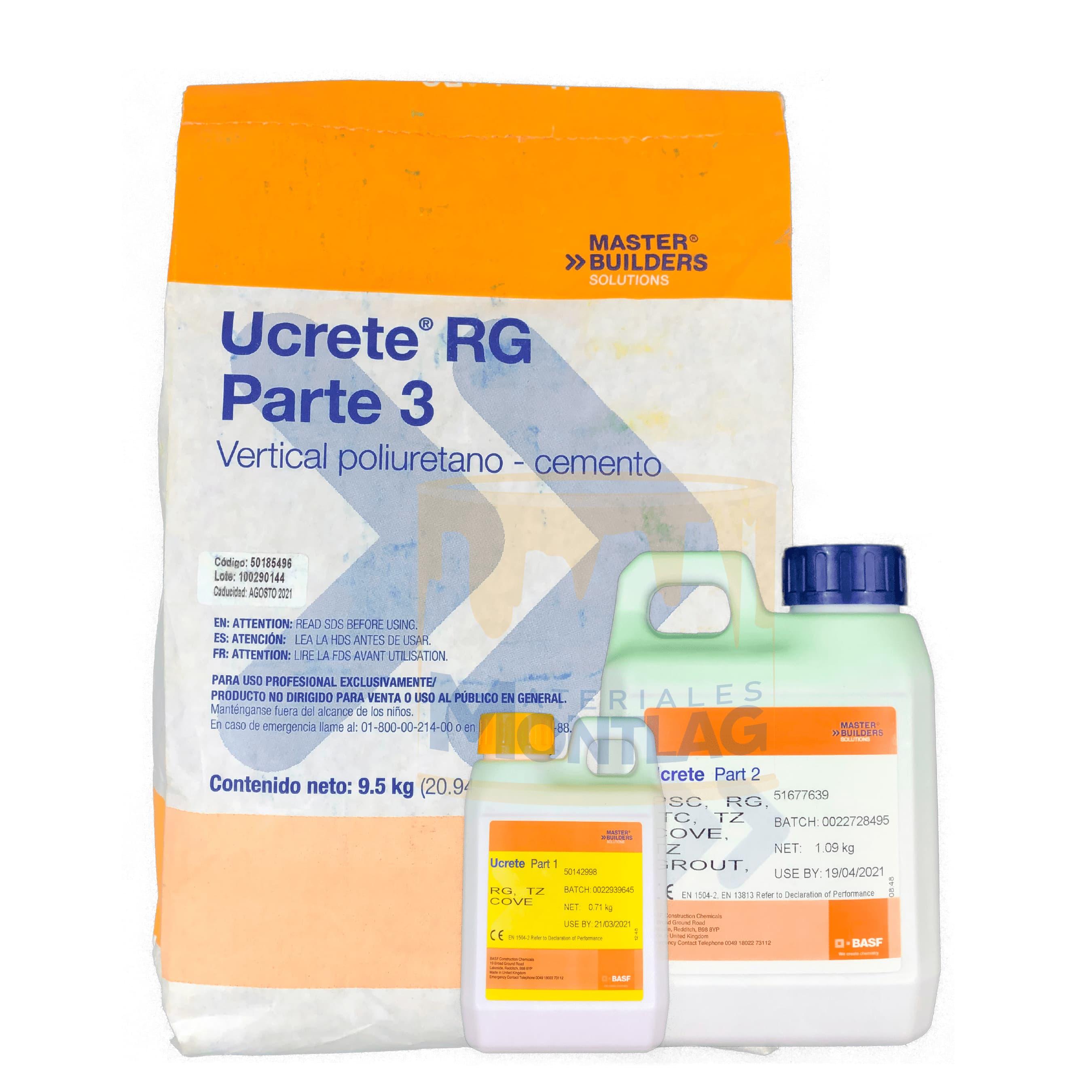 Materiales Montlag - Ucrete RG