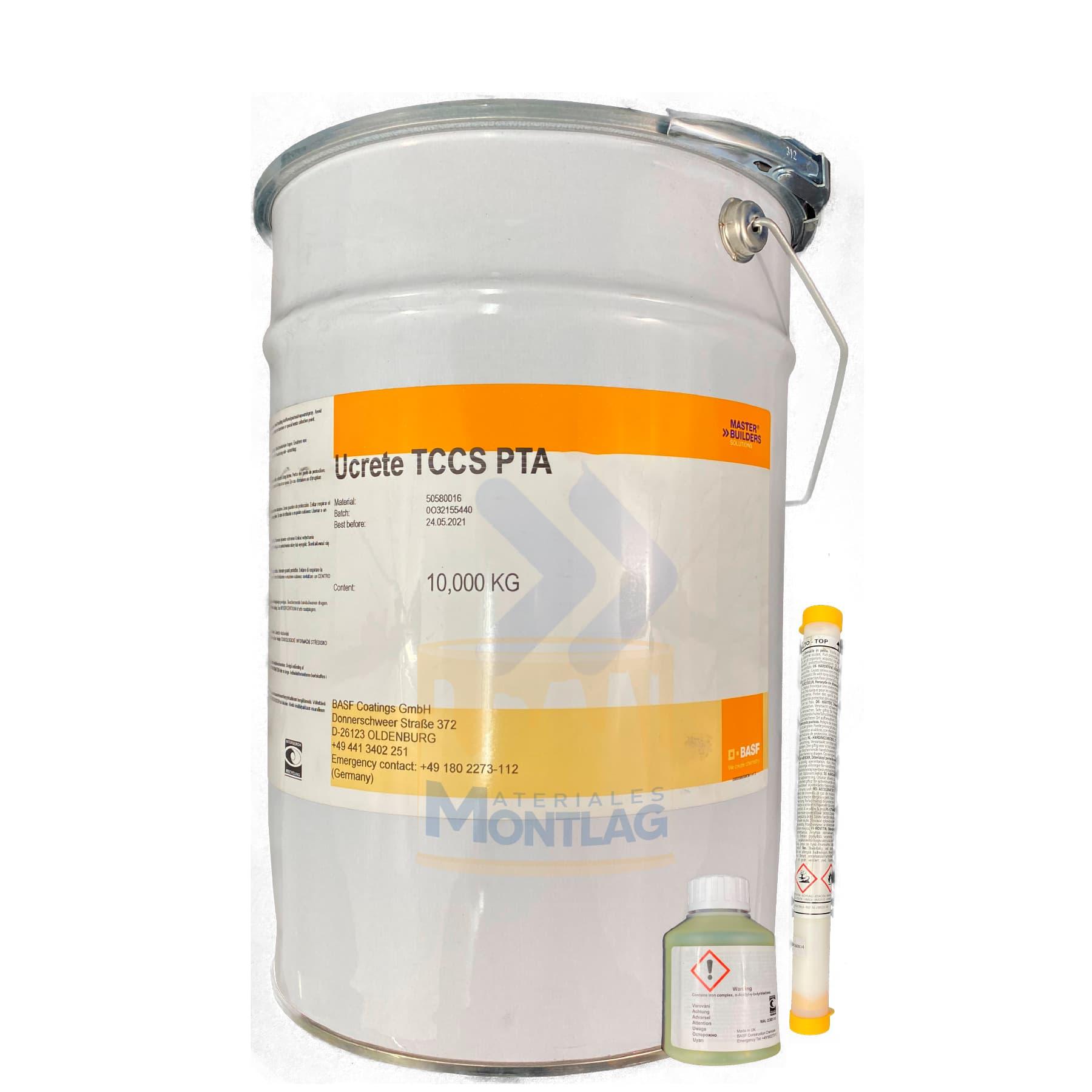 Materiales Montlag - UCRETE TCCS
